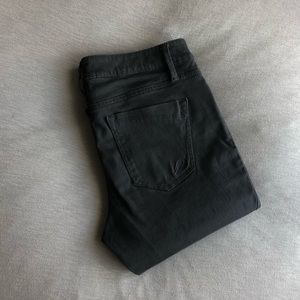 *HP* Express Charcoal Gray Chino Skinny Jeans